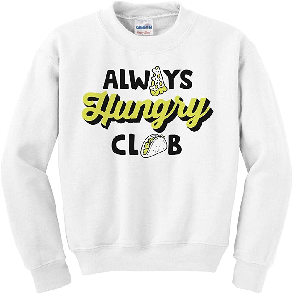 Excellence Ranking TOP8 Always Hungry Club Sweatshirt Youth Kids