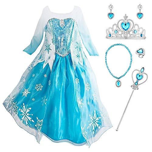 - Elsa Halloween Kostüme Für Kinder