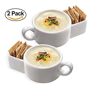 Soup and Cracker Mug or Cereal Bowl Set of (2)