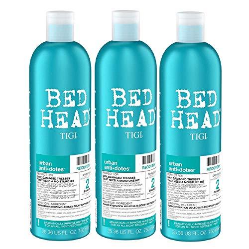 3er TIGI Bed Head Recovery Shampoo XXL 750 ml