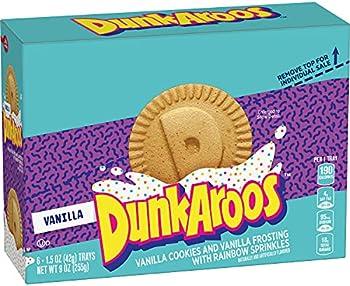 6-Count Betty Crocker Vanilla Cookies and Vanilla Frosting Dunkaroos