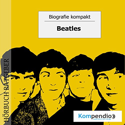 Beatles audiobook cover art