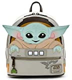 Loungefly Star Wars Baby Yoda The Mandalorian Womens Double Strap Shoulder Bag Purse