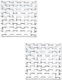 Spiegelau & Nachtmann, 2-teiliges Servierplatten-Set, Quadratisch, 14 cm, Kristallglas, Bossa Nova, 101907