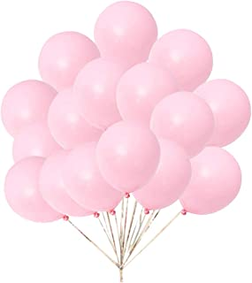 In-JOOYAA 5 Inch Small Balloons 200 Pack Macaron Pink Latex Party Balloons for Photo Shoot Wedding Baby Shower Birthday Party Decorations