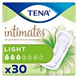 Tena Intimates Ultra Thin Light Incontinence/Bladder Control Pads for Women, Regular Length, 30 Count