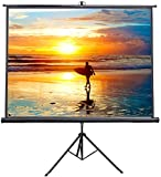 VIVO 100' Portable Indoor Outdoor Projector Screen, 100 Inch Diagonal Projection HD 4:3...