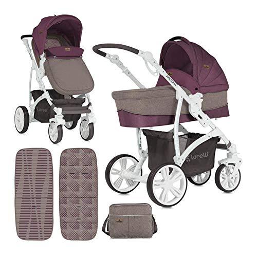 Lorelli 3 in 1 Arizona kinderwagen babyzitje babykuip sport Rouge P