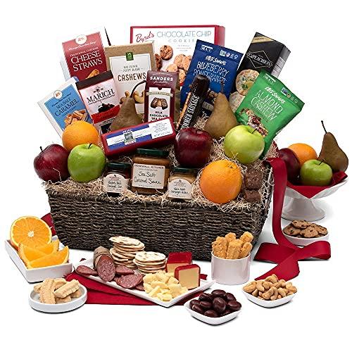 Sympathy Gift Fruit Basket
