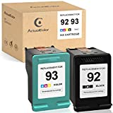 ActualColor C Remanufactured Ink Cartridge Replacement for HP 92 93 for HP Deskjet 5420 5420v 5440 5442 5443 Officejet 6300 6301 6305 6310
