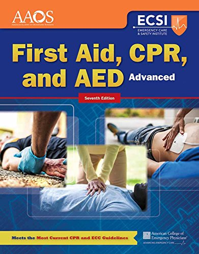 Download First Aid, CPR, and AED Advanced (Orange Book) 1284105318