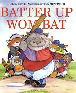 Batter Up Wombat by [Helen Lester, Lynn Munsinger]