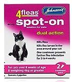 4Fleas doble acción Spot On para gatos y gatitos–Producto nuevo