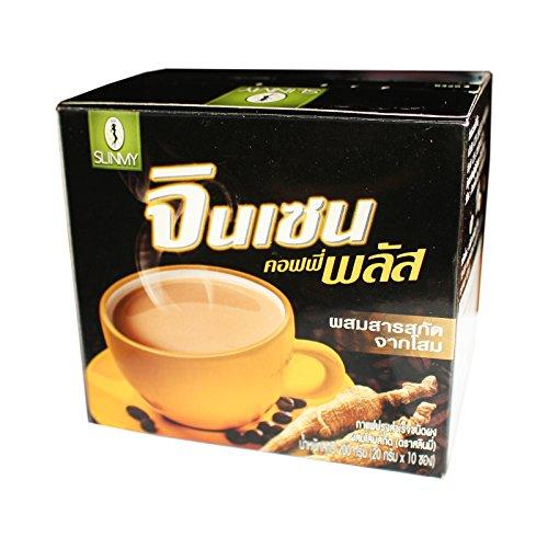 Slinmy Ginseng Coffee Plus Instant Kaffee Mix mit Ginseng Extrakt 200g