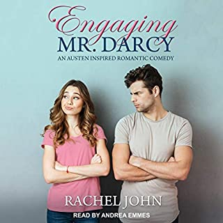 Engaging Mr. Darcy audiobook cover art