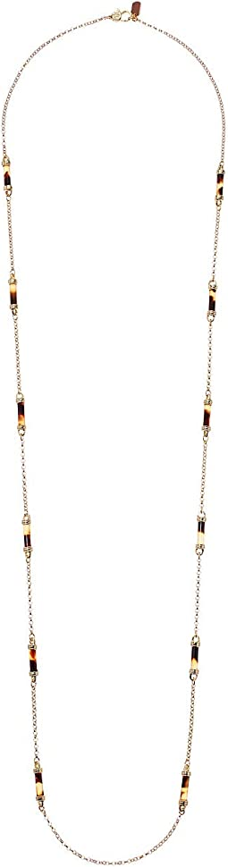 "42"" Barrel Strandage Necklace"