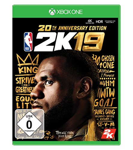 NBA 2K19 20th Anniversary Edition [Xbox One]