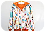 [page_title]-Outdoor Jacke - Ice Cream - Gr. 134
