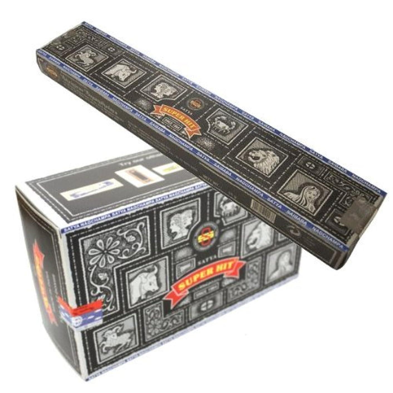ヒューム国家どこSATYA スーパーヒット香 スティック 12箱セット SATYA SUPER HIT