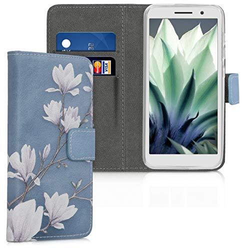 kwmobile Wallet Hülle kompatibel mit Alcatel 1 (5.0