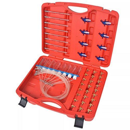 Luckyfu Mesureur portée Diesel adaptateurs pour Common Rail 8 cilindri. Accessoires pour véhicules boîte à Outils du véhicule réparation du véhicule