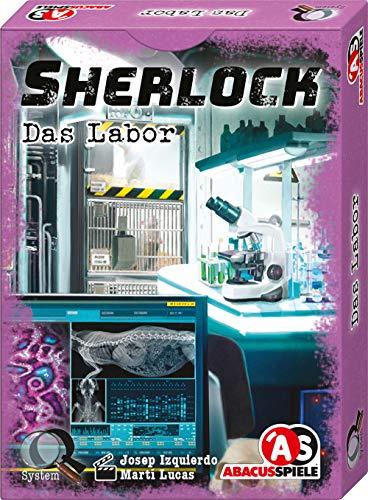 ABACUSSPIELE 48196 - Sherlock – Das Labor, Kartenspiel