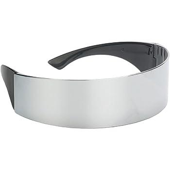 Gafas de Sol de Robot Plata Metálicas Favores de Fiesta Disfraces ...