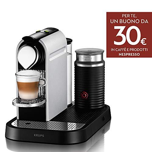 Krups XN761B Nespresso, Macchina per Espresso in Capsule, 1 Tazza, Argento