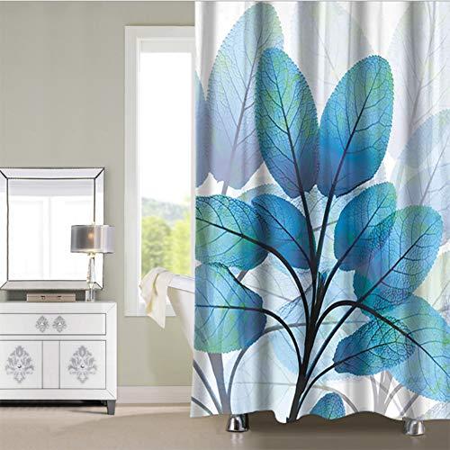 Unbekannt Duschvorhang Badezimmer Umweltfreundlich Waschbarer Anti-Bakteriell Schimmelresistent Duschvorhang 180 * 180CMC
