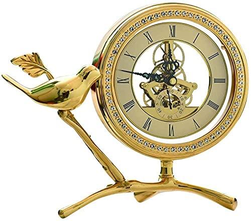 Scultura,Lujo Ligero / Reloj De Escritorio Creativo / Reloj De Mesa De Moda / Estilo Simple / Sala De Estudio De La Sala De Estar / 9 1 Pulgadas / Reloj De Repisa Decoración del Hogar De Escritorio D