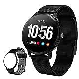 UWINMO Sports Smart Watch, Fitness Tracker, Heart Rate and Blood Pressure Monitor, Waterproof Smartwatch for Women and Men