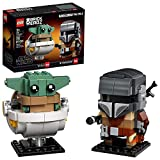 LEGO BrickHeadz Star Wars The Mandalorian & The Child 75317 Building Kit, Toy for Kids and Any Star Wars Fan Featuring Buildable The Mandalorian and The Child Figures, New 2020 (295 Pieces)