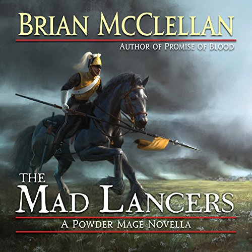 The Mad Lancers audiobook cover art