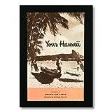 ハワイアンポスター ハワイアンシリーズ <YOUR HAWAII ユナイテッド航空> H-39