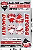 Kit de Adhesivos Ducati (16 uds.)