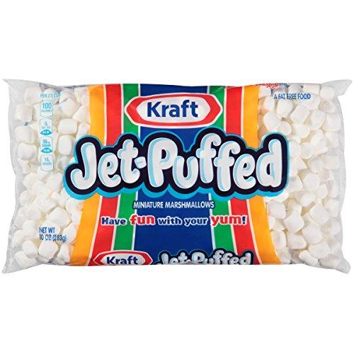 Kraft JetPuffed Marshmallows Miniature 10 Oz