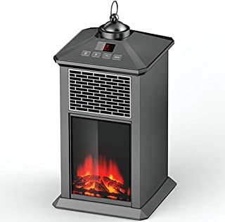 Portable Fireplace Stove,Overheating and Tilt Protection Temperature Can Be Adjusted at Will Flame Retardant Shell,Freesta...