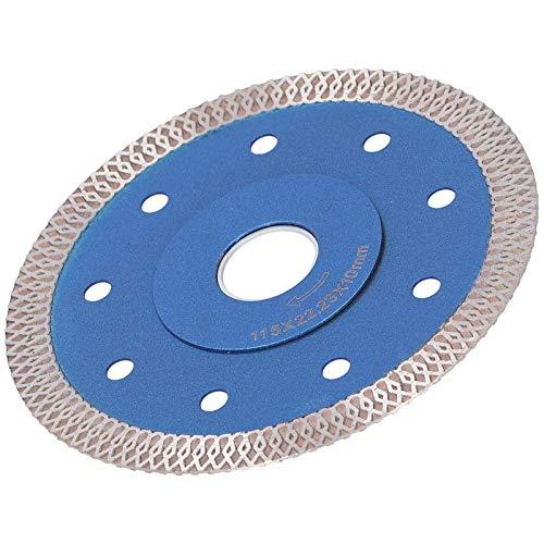 Herramientas de hardware de hoja de sierra de diamante Azulejo de porcelana Hoja de sierra de corte de cerámica Amoladora angular Hoja de sierra de diamante Durable, para amoladoras