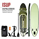 COSTWAY SUP Board 335 x 76 x 15cm, Stand up Board aufblasbar, Stand up Paddling Board, Stand up Paddel Board, Paddelboard, inkl. Rucksack, Pumpe, Reparaturset, Alu-Paddel und Center Finne