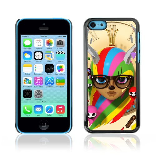 CelebrityCase Polycarbonate Hard Back Case Cover for Apple iPhone 5C ( Abstract Cute )