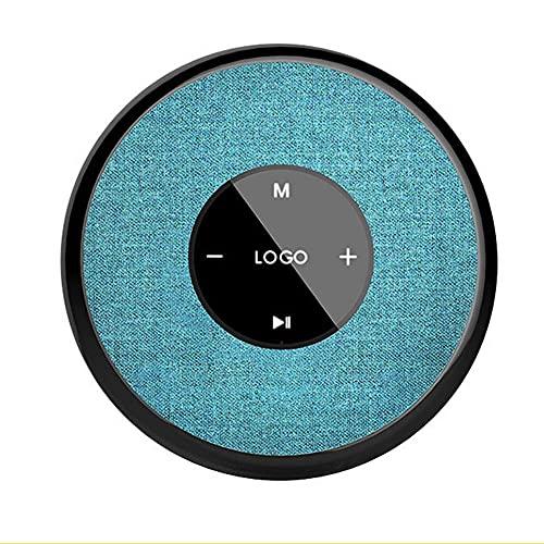 IYUNDUN Altavoz Bluetooth con Luz LED, Caja De Sonido Inalámbrica Impermeable IPX6 con Botones Táctiles, Altavoces Dobles Interconectados TWS, para Fiestas En Casa/Duchas/Piscinas/Baños