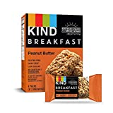 KIND Breakfast Bars, Gluten Free, 1.8 Oz, Peanut Butter, 32 Count (Pack of 32)