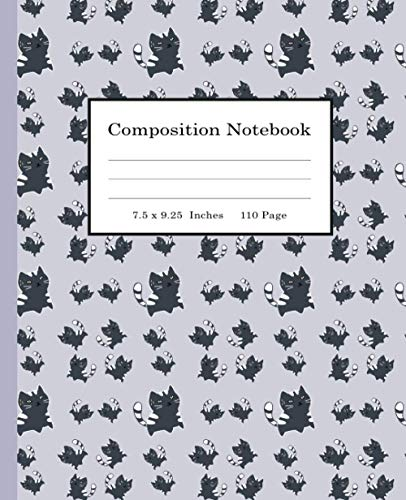 Composition Notebook: Kawaii Cat Composition Notebook, Kawaii Kitty Cat Wide Ruled Lined Journal Pretty Cat Wide Blank Lined Workbook for Teens Students Girls,( best backpack for college student).