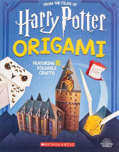 Compare Textbook Prices for Harry Potter Origami Volume 1 Harry Potter Illustrated Edition ISBN 9781338322965 by Scholastic