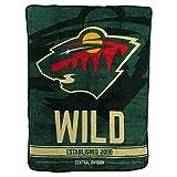 NHL Breakaway Super Soft Plush Throw Blanket (Minnesota Wild)