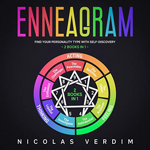 Enneagram: Find Your Personality Type with Self-Discovery - 2 Books in 1 audiobook cover art