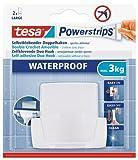 tesa Powerstrips Waterproof Duo Hook Plastic