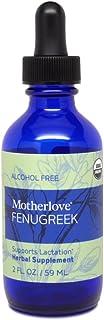 Motherlove Fenugreek Alcohol Free Tincture (2oz) Traditional Lactation Supplement—Enhances Breast Milk Supply for Breastfe...