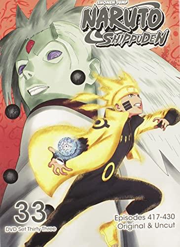 Naruto Shippuden Uncut Set 33 [Edizione: Stati Uniti] [Italia] [DVD]
