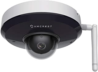 Amcrest ProHD 1080P PTZ WiFi Camera, 2MP Outdoor Vandal Dome IP Camera (3X Optical Zoom) IK08 Vandal-Proof, IP66 Weatherpr...